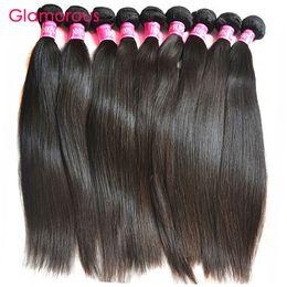 Wholesale Brazilian Virgin 6pcs - Glamorous brazilian human hair wholesale 6pcs straight 6pcs body wave 6pcs curly mix length brazilian virgin hair 18pcs lot