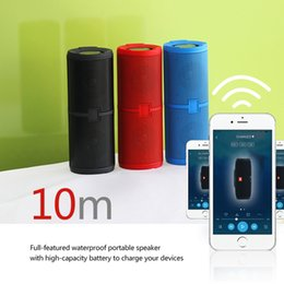 Wholesale Phone Wireless Power Bank - JL Mini bluetooth Speaker Wireless handsfree 6000mAH Power Bank Charging for phone Wholesale Portables Bluetooth Speakers Charger 5+