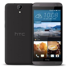 Wholesale One Inch Android - Refurbished Original HTC ONE E9 E9W 4G LTE Dual SIM 5.5 inch Octa Core 2GB RAM 16GB ROM 13MP Camera Androd Smart Phone Free DHL 1pcs