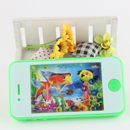 Wholesale Water Game Machines - Wholesale-1pcs Funny Water Machine Water Ferrule Game Consoles Kids Children Classic Intellectual Toys