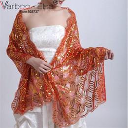 Wholesale Shrug White Sequin - White Bridal Shrug Wedding Evening Wrap Bolero Jacket Womens Fashion Wedding Lace Shawl white sequine applique Wedding Shawl