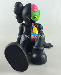 Wholesale Toys Hobbies Action Toy Figures inch Kaws Companion kaws original fake black red and grey medicom toy factory prodct real picture