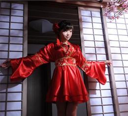 traje completo de miku hatsune Rebajas Kimono de la boda nupcial japonés trajes de rendimiento juego de anime cosplay uniformes lolita disfraces, apoyo envío de la gota