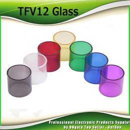 Wholesale free e covers - Smok TFV12 Glass Tube Cover Replacement Pyrex Glass Parts For Original SmokTech TFV12 Beast King Tank 6ML E Cig DHL Free 2244010