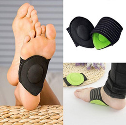 Wholesale Flat Feet Pain - Plantar Fasciitis Arch Aid Feet Cushion Sleeve Pad Flat Arch Support Orthopedic Insoles Heel Pain Relief Shock Orthotic KKA2025