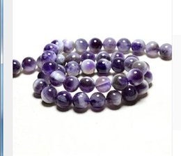Wholesale jade beads mm - Wholesale 2pc set package Arrival Natural Amethystine Crystal Beads Natural Stone Purple Beads For Jewelry Making Diy mm Making gems loose