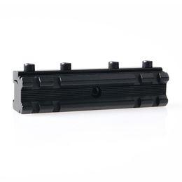 Wholesale Weaver Picatinny Dovetail Adapter - Rail Base 11mm Dovetail to 20mm Weaver Picatinny Mount Adapter Converter
