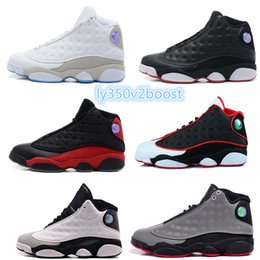 Wholesale Cheap Leather Tops For Woman - no box Top Quality Wholesale Cheap NEW Retro 13 13s mens basketball shoes sneakers women Sports trainers running shoes for men designer