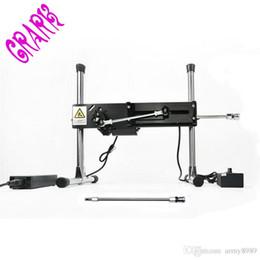 Máquina de herramientas sexuales online-Premium Sex Machine + Extension Rod, herramientas sexuales eróticas juguetes para mujeres, Turbo Gear Power 120w, Producto del sexo
