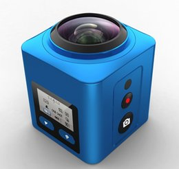 Wholesale Professional Smartphone - High selling V2 360 Degree Mini WiFi Sport Camera Panorama Video 4K HD Action Video Waterproof Camcorder DV APP Remote Control Smartphone