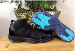 Wholesale Basketball Gold Low Price - Wholesale Gamma Blue retro 11 Basketball Shoes Mens white sports shoes Athletics Concord Bred Space Jam 2017 release Low Price Sneakers
