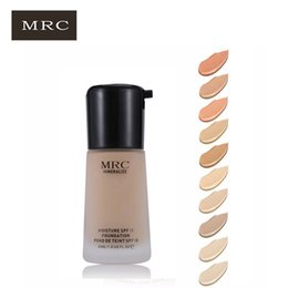 Wholesale Mineral Bb Cream - Dropshipping free shipping MRC695 Whitening Moisture Concealer Mineral Moisturizing Foundation Liquid Silky BB Cream