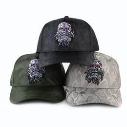 Wholesale Wholesale Skull Flats - Fashion New Arrival Snapback Hat Bone Snap Back gorras Men Hip Hop Cap Baseball Cap Fashion Skull Flat-brimmed Hat