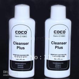 Wholesale Cleanser Plus - Big Discount! 2 UV Gel Cleanser Nail Art Cleanser Plus Remover for Nail Art tips Brush Pen J82 Free