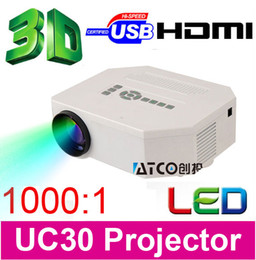 Wholesale Cheaper Projector Led 3d - Wholesale-Big Discount Newest 2016 Cheaper Portable LED Mini Video LCD 1080P 3D Home Theater Projector Full HD Proyector Beamer Projetor