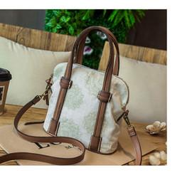 Wholesale Dropship Lady Bags - Dropship Small Fashion Women Bag Handbag Canvas Retro Vintage Designer Handbags High Quality Famous Brand Tote Shoulder Ladies Hand Bag