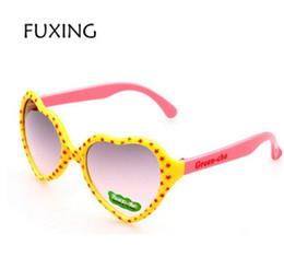 Wholesale Bow Glasses Frame - Lovely Kids Sunglasses Girls Heart-shaped Child Sun Glasses Children Bow Decoration Glasses Gafas Ninas Oculos Criance
