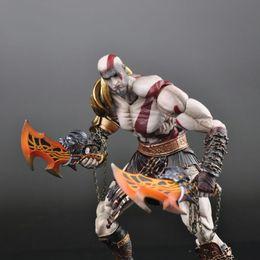 Wholesale Play Kai Arts Figure - SQUARE ENIX Play Arts KAI God of War Kratos PVC Action Figure Collectible Model Toy 22cm KT1785