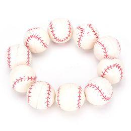 salto de goma Rebajas Venta al por mayor 10Pcs / Set Kids Outdoor Ball Toys Rubber Elastic Jumping Ball Bouncing pelota de béisbol envío gratis