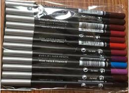 Mejores labios online-MAQUILLAJE DE ENVÍO GRATIS Mejor venta más vendida Neweat Products delineador de labios lápiz delineador de ojos lápiz regalo de buena calidad libre