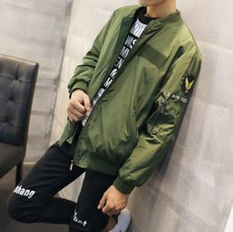 Wholesale Gd Bigbang - Bigbang GD TOP victory Baseball Jacket air jacket fashion outerwear