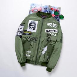 Wholesale Cool Jacket Designs - Wholesale- Men Spring Autumn Jackets cool Coat punk Jacket Rock Roll Mens Brand Clothing Outerwear Manteau Homme Bomber Jacket