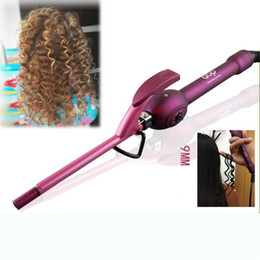 Mágica, cachos, rolos on-line-9mm-32mm Curling Ferro Curler Cabelo Curler Profissional Irons Curling Wand Roller Magia Cuidados Beleza Styling ferramentas
