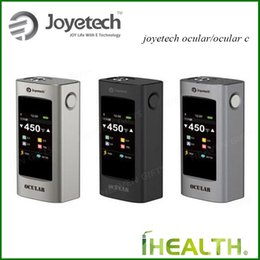 Wholesale Joyetech OCULAR w Joyetech OCULAR C w Touch Screen TC Box Mod APP Bluetooth Connecting Joyetech Ocular Ocular C box mod