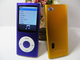 Wholesale Mp4 16gb Camera - 5th MP3 mp4 player 16gb 2.2 LCD Camera Scroll Wheel 1.3MP Camera Fashionable music player