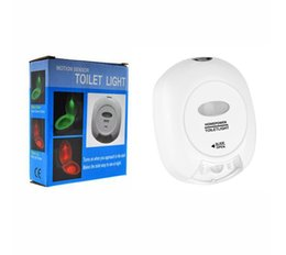 Wholesale Two Bulb Lamp - The new two-color toilet lamp led night light creative lighting sensor patented product