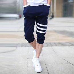 Wholesale Plus Size Harem Shorts - Wholesale- 2016 Summer Hot Casual Mens Capri Cropped Harem Sweatpants Jogger Trousers Harem Hip Hop Shorts