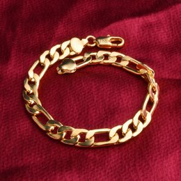 Wholesale Ol Dress Wholesale - Top Quality 18K Genuine Gold Plated 8MM Bracelet Necklace Fashion OL Jewelry Sets For Women Party Dress Jewelry