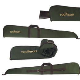Wholesale Gun Carrying - Tourbon Shotgun Case Slip Carrying Cover Gun Bag Hunting Tactical Shot Nylon 50