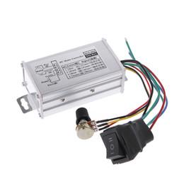 Wholesale Dc Motor Speed Control Pwm - DC 12V 24V 36V 48V SoftStart Reversible Motor Speed Control PWM Controller PWM