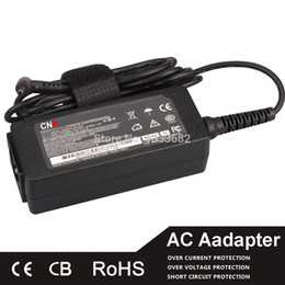 Wholesale Replacement Ac Adapter - Wholesale- Replacement 19V 2.1A 2.5*0.7mm AC Adapter For asus EEE PC X101 X101H X101CH R011PX 1011PX 1015PW 1015PX 1015PEB 1005 1005HA