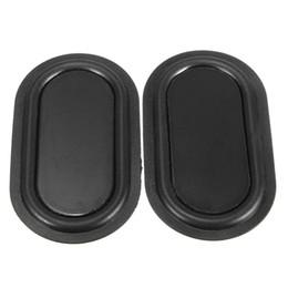 Wholesale Good Bass - Wholesale- Good Quality 1 Pair 40 x 70mm Bass Film 4070 Bass Passive Board Bass Diaphragm Black