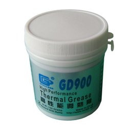 Wholesale Thermal Grease Paste Compound Cpu - Wholesale- 150 Grams GD900 Thermal Conductive Grease, Gray Paste Silicone Plaster Heatsink Compound, Used For CPU LED CN150