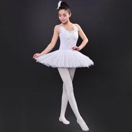 Wholesale Women Latin Dance Tops - Top Selling Leotard Dress Girls Dance Costume Elegant Dance Wear Women Professional Ballet Dance Costume+ Head Flower UA0277