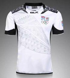 Wholesale Wholesale Olympic Jerseys - Thai quality New Zealand 2017 Jerseys New Fiji Rugby Sevens Olympic Shirt 2016- Fiji 7's Jersey Fiji Rugby Jersey 2017 Super Rugby