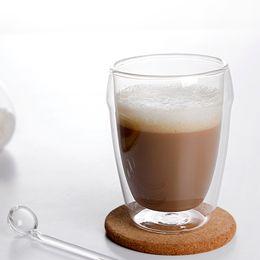 Wholesale Bodum Glasses - Wholesale-Free shipping 3 PCS lot 80 ml Bodum Pavina double wall glass glass coffee cup, double wall glass coffee