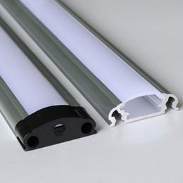led alüminyum profil, Set başına 2m, sütlü dağınık kapaklı veya şeffaf kapaklı LED şeritleri için LED Alüminyum ekstrüzyon profili SN2509 nereden