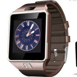 Wholesale Pet Camera Iphone - Bluetooth SmartWatch DZ09 Relojes Smartwatch Relogios TF SIM Camera for IOS iPhone Samsung Huawei Xiaomi Android Phone