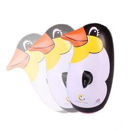 Wholesale Penguin Balloons - Cartoon Inflatable Penguin Tumbler PVC Kids Toys Air Animal Balloon Birthday Party Favor Supplies