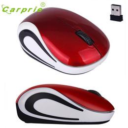 Rato bonito do pc on-line-Atacado-CARPRIE Mouse Sem Fio Bonito Mini 2000 DPI Computador Óptico Ratos Sem Fio Para PC Portátil Notebook Jan18