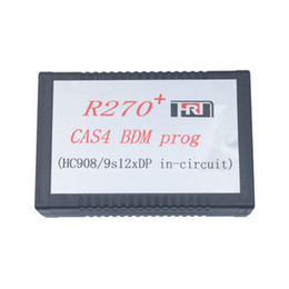 Wholesale Top Programmer Usb - 2016 Top Selling R270 V1.20 Auto CAS4 BDM Programmer R270 Key Programmer R270 CAS4 BDM Programmer Professional Free Shipping