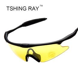 Wholesale Ess Glasses - Wholesale-Men Night Vision Driver Sunglasses Outdoor Mountain Car Driving Fishing ESS Mirror Sun Glasses Sport Male Female Goggles