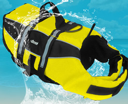 Wholesale Dogs Clothes Shoes - Free Shipping Amazon at the end of the big drop price dog dog swimming life jacket large and small dog pet supplies clothing