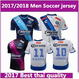 Wholesale Jersey Club America - Thai quality 2017 Liga MX Mexico Club Puebla FC Home Soccer Jerseys 16 17 men ALEXIS Alustiza Chivas morelia America Away football shirts