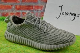 buy hot-hot - 2017 Wholesale Discount Y boost 350 pirate black turtle dove moonrock oxford Tan Men Women Running Shoes kanye west Y 350 season With Box