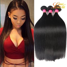 Wholesale Brazilian Extensions Prices - Wholesale Price Straight Hair Natural Black 100% Unprocessed Peruvian Human Hair Extension Brazilian Malaysian Mongolian Indian Hair